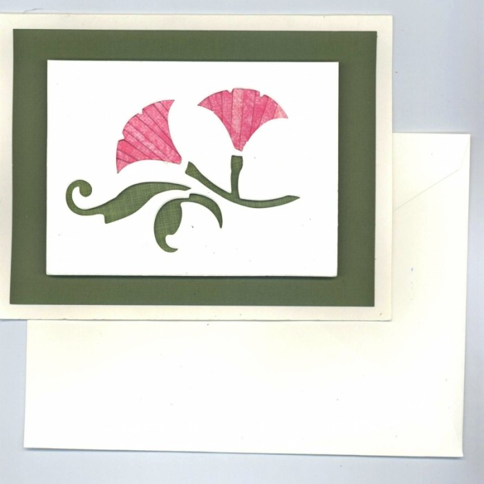 Mornin Glory Iris Folding Card Kit