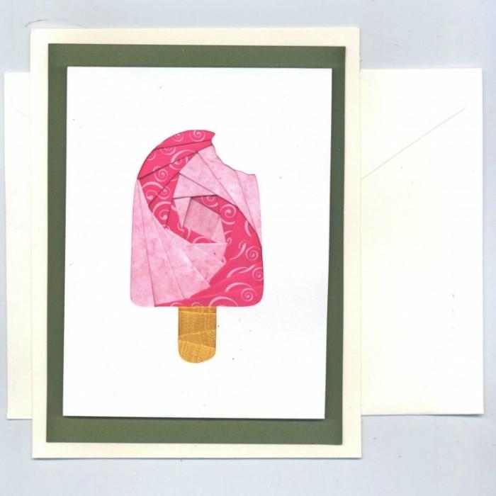 Popsicle Iris Folding Card Kit