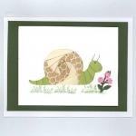 Snail Iris Folding Card Kit Deluxe