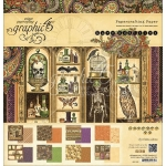 Rare Oddities Graphic 45 Double-Sided Paper Pad 12x12