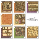 Rare Oddities Graphic 45 Double-Sided Paper Pad 12x12 Papers