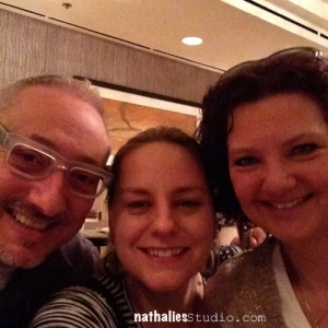 Joe and Nathalie and Bergit CHA 2014