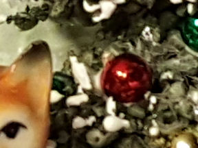 Sneak Peak Vintage Christmas Shadowbox