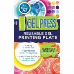 Gel Press 3x5 Plate - label