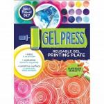 Gel Press 5x7 Plate - label