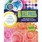 Gel Press 8x10 Plate - label