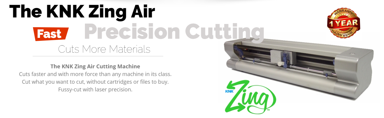 CreateNCraft Zing Air Cutting Machine Packages