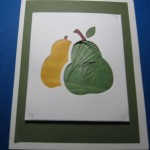 double pear card