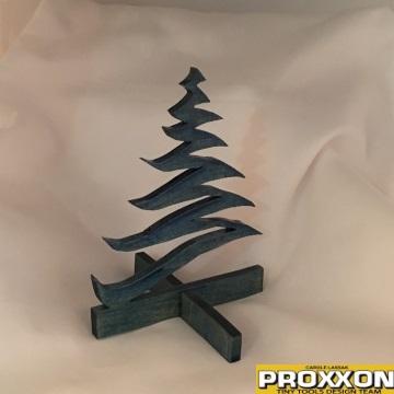 Finished Swirl Christmas Tree