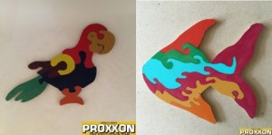 Fish and Parrot Puzzles