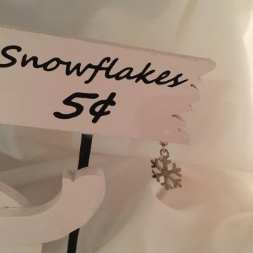 Snowflakes Five Cents