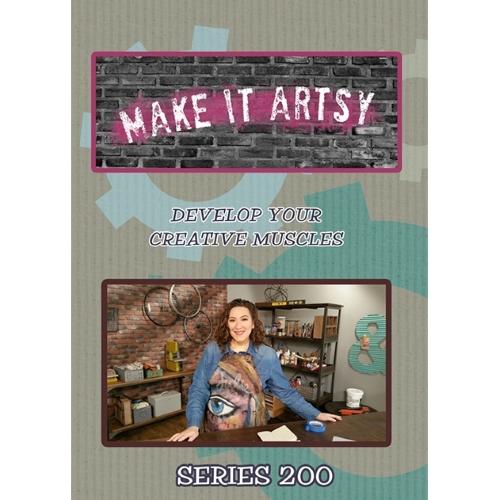 Make It Artsy Series 200 4 Disc DVD Set