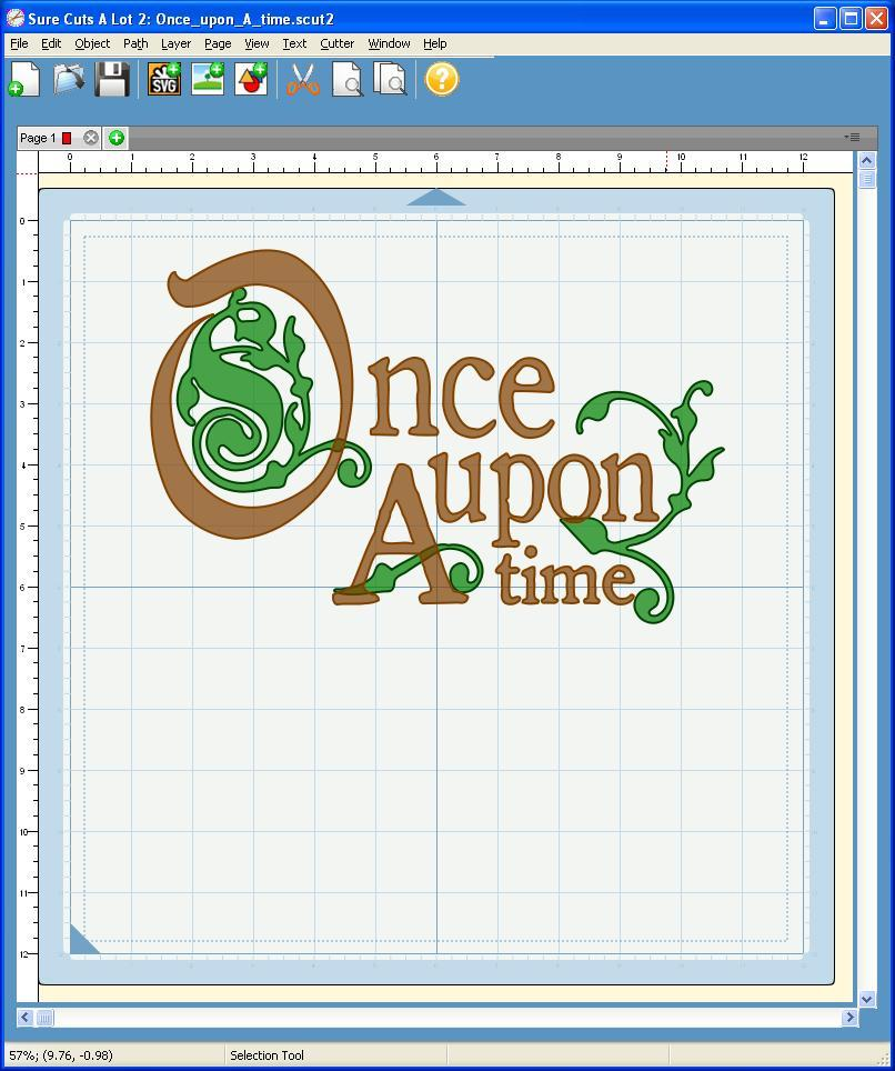 Once Upon A Time...Illuminated Letters - CreateNCraft